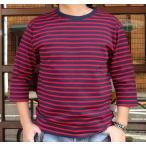 ★SPRINGFORD★BUDDY オリジナル 3/4スリーブ ボーダーTシャツ アメカジ 七分袖