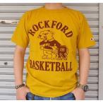 BUDDY 別注 Champion T1011 MADE IN U.S.A.プリントTシャツ(ROCKFORD WILDPANTHERS BASKETBALL)アメリカ製・チャンピオン・ティーテンイレブン バスケットボール