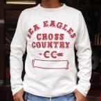 BUDDY 別注 Champion ロングスリーブTシャツ(FLORIDA STATE SEA EAGLES)/チャンピオン・ロチェスター 長袖 Tシャツ ROCHESTER LONG SLEEVE