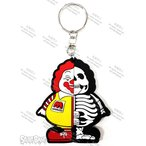 ��� ���󥰥�å��� ��������åȥ١��� SECRETBASE TOKYO X-RAY MC SUPER SIZE ME RUBBER KEY HOLDER YELLOW ��� ���� �����ѡ��������ߡ�