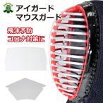 剣道 マスク 防具用 マウスガード+アイガードセット フェイスガード  ウイルス感染予防に 武道園