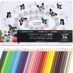 三菱鉛筆 色鉛筆 No.888 36色セット 大人の塗り絵 コロリアージュに最適 塗り絵用色鉛筆