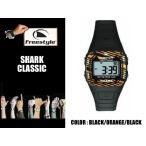 Freestyle シャーク リストウォッチ 時計 メンズ レディース SHARK CLASSIC BK/OR 防水 デジタル 基本送料無料