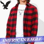 アメリカンイーグル  ネルシャツ  フランネル  長袖  メンズ  ボタン  ポケット  チェック  XS〜XXXL  カジュアル  新作  AEO