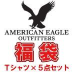 アメリカンイーグル福袋 2020  AMERICAN EAGLE  Tシャツ×5枚セット福袋  メンズ  当店定価25000円→激得11000円  新作  AEO福袋