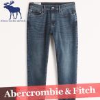 アバクロンビー&フィッチ  デニム  ジーンズ  パンツ  メンズ  スキニー  グレー/灰色  新作 A&F  ズボン