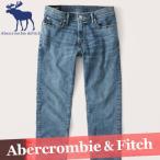 アバクロンビー&フィッチ  デニム  ジーンズ  スキニー  メンズ  パンツ  ダメージウォッシュ  新作  A&F  ズボン