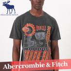 アバクロンビー&フィッチ  グラフィックTシャツ  半袖  メンズ  丸首  プリント  ロゴ  XS〜XXL  新作 アバクロ