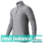 ニューバランス  ロングTシャツ  長袖  メンズ  ハーフジップ  New Balance  新作