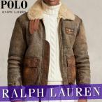 ポロ ラルフローレン  レザースエードジャケット  ブレザー  メンズ  本革100%  XS〜XXLサイズ  新作  RL  アウター