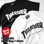 THRASHER スラッシャー Tシャツ SKATE MAG T-SHIRT 110101【レビューを書いて(ステッカー×1枚)をもらう】
