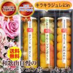 まるで果実の宝石箱のようなフルーツコンポートセット 送料無料(北海道、沖縄除く)上品な甘さのジュレ入。