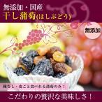 無添加 国産干しブドウ(干し蒲萄)50gシャインマスカット等種なし、皮ごとぶどうのみ。 (fy2)