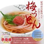 南高梅梅肉入 紀州梅うどん(2食スープ付)
