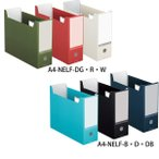 【全6色・A4】コクヨ/ファイルボックス NEOS A4(A4-NELF)最新のオフィスに溶け込むシックなカラー KOKUYO