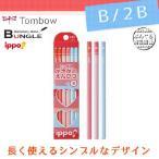 【硬度:B/2B】トンボ鉛筆/かきかたえんぴつ<ippo!(イッポ)>(無地・ピンク系)KB-KPW02 六角・1ダース ポップなカラーが楽しいかきかた鉛筆