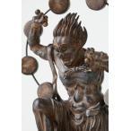 約20cmの掌サイズの姿の中に日本の匠の技を凝縮! 身近における仏像シリーズ イSム TanaCOCORO『掌』 雷神