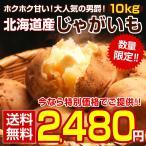 【送料無料】北海道産.越冬完熟じゃがいも10Kg(5Kg×2種類). 2種類のじゃが芋からお好きな2種類を!【E】