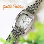 フォリフォリ 腕時計 レディース FOLLI FOLLIE S922メタルベルト WF5T080BDS ホワイト 人気 ブランド かわいい おしゃれ 女性 ギフト クリスマス プレゼント