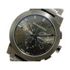 バーバリー 時計 メンズ BURBERRY 腕時計 ガンメタ クロノ 人気 ブランド BURBERRY腕時計 BURBERRY時計 バーバリー腕時計 バーバリー時計 男性 ランキング 激安