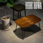 テーブル 折りたたみ ローテーブル アンティーク調 ちゃぶ台 RUDE ROWA LOW TABLE LARGE TATOO×INTERRIOR