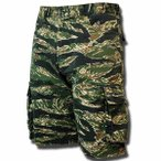 TIGER CAMO SHORTS ブラックタイガー one by one clothing