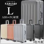 スーツケース Lサイズ キャリーケース フレーム  7泊〜14泊用 大型  軽量 suitcase TANOBI Busyman RSN01