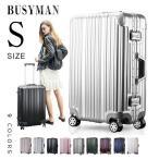 10%offクーポン適用★キャリーバッグ 機内持込 スーツケース キャリーケース Sサイズ 人気 1泊~3泊用  超軽量  TSAロック フレーム Busyman T1169