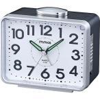 目覚まし時計 置き時計 置時計 ベル音 アナログ 大音量ベル クロック ベル太郎 ノア精密 MAG マグ T-704 SM-Z MAG マグ ノア精密
