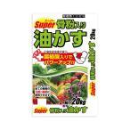スーパー骨粉入り油かす 20kg〔メーカー直送品・代引不可〕  肥料 栄養剤 お花