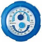 温度湿度計 温度計 湿度計 シュクレミニTM-2386 クリアブルー エンペックス empex