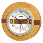 置き時計 目覚まし時計 ウッドクレスト アラームクロック TM-605 エンペックス empex