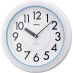 掛け時計 掛時計 お風呂時計 防水時計 MAG バス アクアガード 防水クロック お風呂で使える便利な防滴時計 防水 防滴時計 W-662 WH-Z