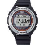 シチズン キューアンドキュー メンズ 腕時計 ソーラーメイト 電波ソーラー デジタル表示 クロノグラフ ブラック MHS7-300