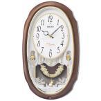 掛け時計 壁掛け時計 からくり時計 電波時計 セイコー クロック SEIKO からくり アミューズ アナログ AM260A