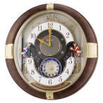 掛け時計 壁掛け時計 からくり時計 電波時計 セイコー クロック SEIKO クロック RE816B