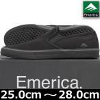 emerica エメリカ Provost Cruiser Slip BLK/BLK スケートボード スケボー スケシュー シューズ スニーカー スリッポン
