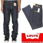 "LEVI'S SKATE ( リーバイススケート ) 504 Regular Straight Jeans ""Rigid Indigo"" (スケートボード スケボー デニム ジーンズ)"