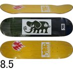 ショッピングblack BLACK LABEL ブラックレーベル Elephant Block Out 8.5inch スケートボード スケボー デッキ