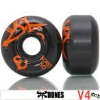 BONES ボーンズ 100's Black 50mm スケートボード スケボー パーツ タイヤ ウィール
