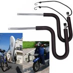 ショッピング自転車 自転車/スクーター共通キャリア本体CAP キャップスクーター 自転車 サーフボード ボディボード 1本積み用