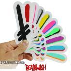 Deathwish デスウィッシュ Gang Logo Sticker スケートボード スケボー ステッカー シール