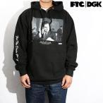 DGK x FTC パーカー ウェア メンズ BOSS HOODED FLEECE BLACK