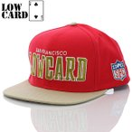 ショッピングLOW LOWCARD ローカード キャップ CAP Team SF Snapback Hat
