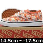 VANS バンズ Kids Authentic Floral Pop Living coral オーセンティック スニーカー 靴 シューズ キッズ 子供