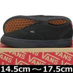 VANS バンズ Kids Authentic Black/Black スケートボード スケボー オーセンティック スニーカー 靴 シューズ キッズ 子供