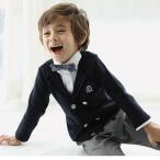子供タキシード  男の子スーツ  フォーマル  無地  高品質 カジュアル  セットアップ 結婚式 発表会 七五三 入園式 入学式 卒業式  90cm-140cm  3点セット Y053