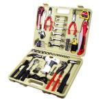 (業務用2個セット) TRAD 工具セット/ツールセット 〔56種類入り〕 収納ケース/ACドライバー付き TS-56A 〔DIY用品/日曜大工〕