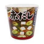 (まとめ)神州一味噌 おいしいね 赤だしカップ 24.2g 1セット(18食:6食×3ケース)〔×2セット〕