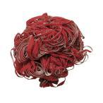 (まとめ)アサヒサンレッド 布たわしサンドクリーン 大 中目 赤 1個〔×10セット〕